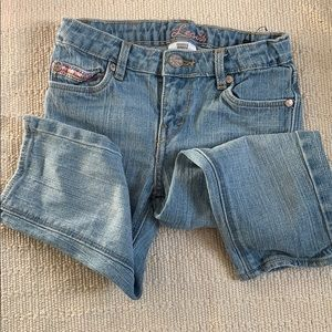 LEVI's with pink details - girl size 7